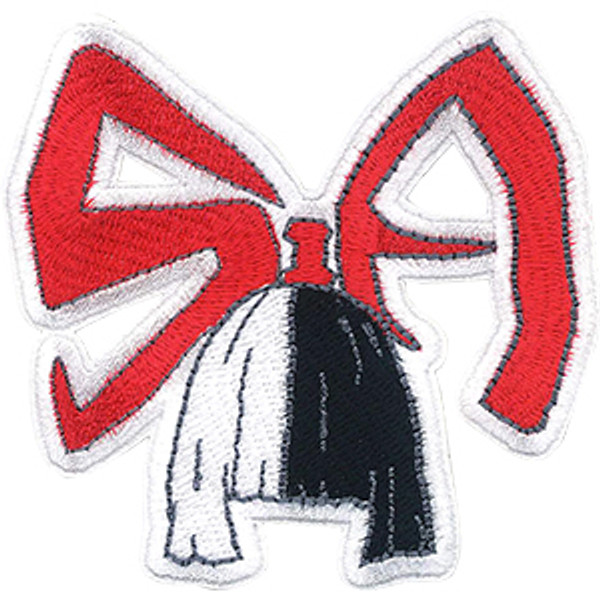 Sia Iron-On Patch Red Letters Wig Logo