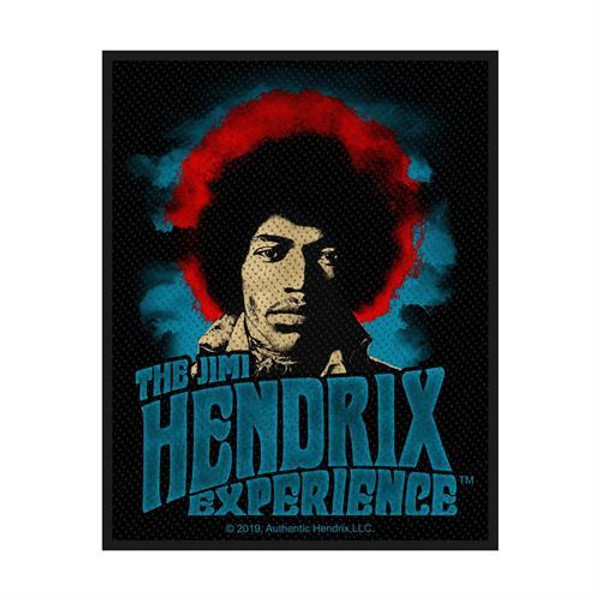 Jimi Hendrix Sew On Patch Rectangle Experience Logo