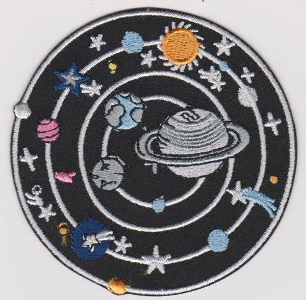 Solar System Iron-On Patch