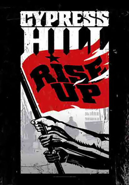 Cypress Hill Poster Flag Rise Up Logo