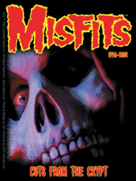 Misfits Vinyl Sticker Cuts From The Crypt