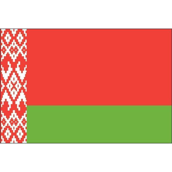 Belarus Flag 3x5 ft. Economical