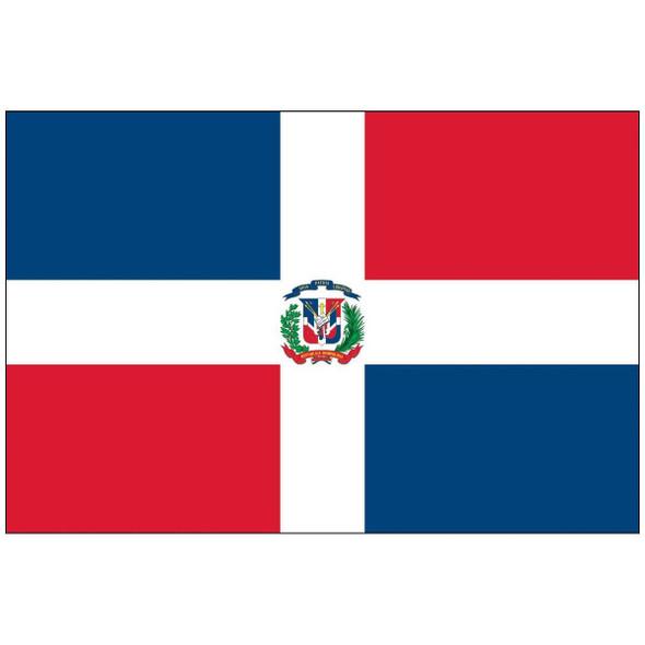 Dominican Republic Flag 3x5 ft. Economical