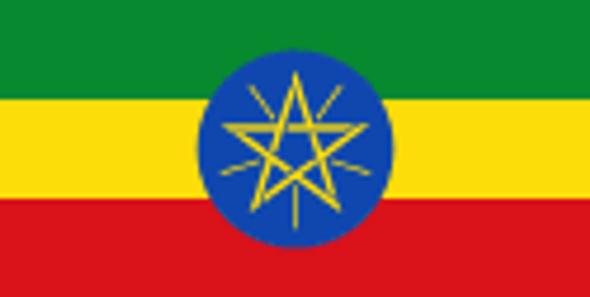 Ethiopia Flag 3x5 ft. Economical