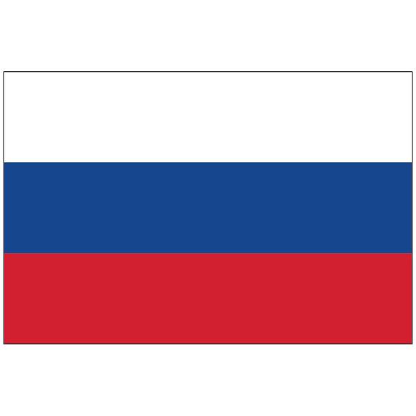 Russian Federation Flag 3x5 Economy