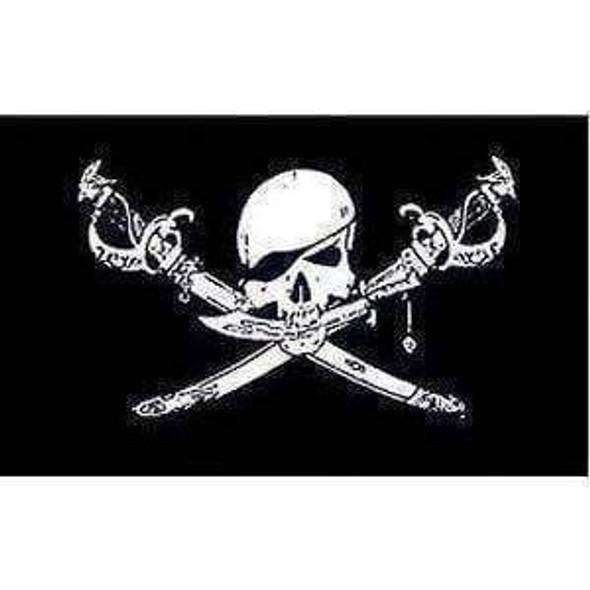 Pirate Brethren Of the Coast Jolly Roger Flag 3 X 5 ft. Standard