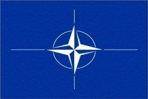 3'x5' NATO Flag (North Atlantic Treaty Organization Flag)