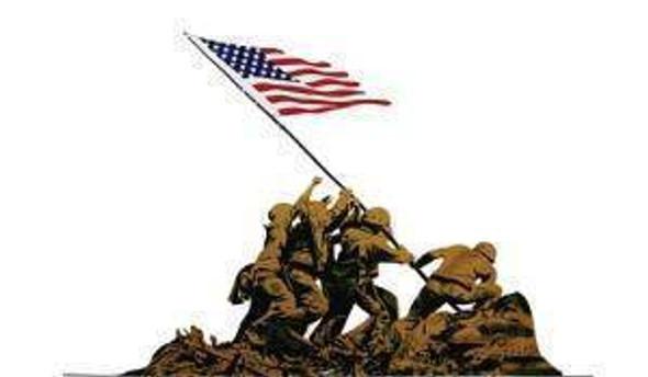 Iwo Jima USMC Flag 3x5 ft. Economical