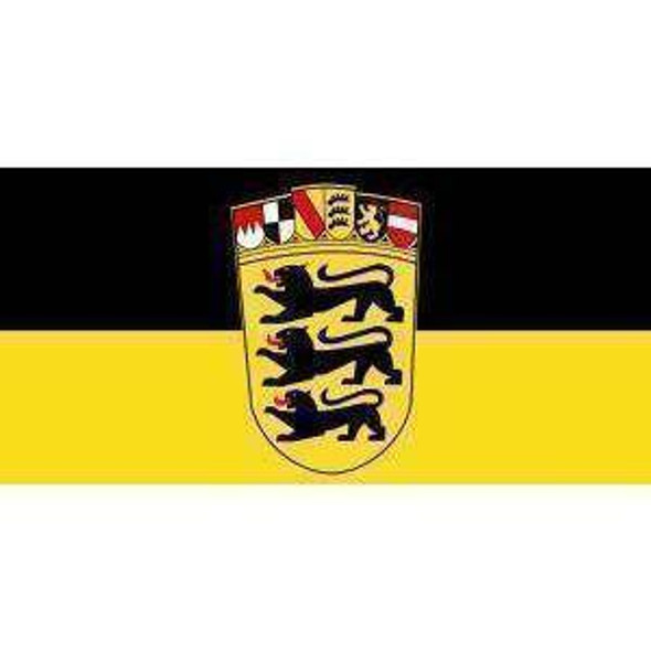 Baden Wurttemberg Flag (German State Flag) 3x5 ft. Standard