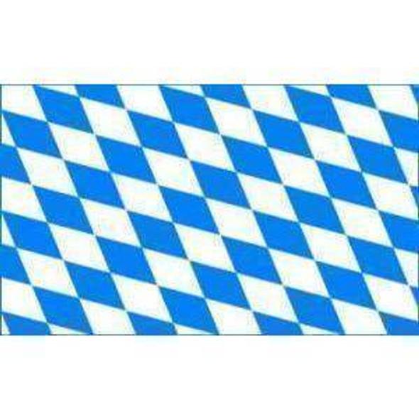 Bavaria Flag Plain (German State Flag) 3x5 ft. Standard