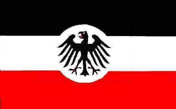 Deutsch Reicht Crest 1933 Flag - Historical German Flag 3x5 ft. - Economical