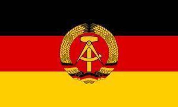 East Germany Flag - East German Flag - Economical