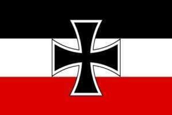 German Jack Flag 3x5 ft. Economical