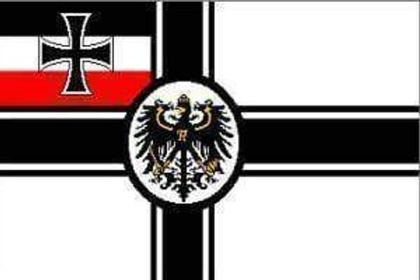 Imperial German Navy Flag War Ensign 3x5 ft. Economical
