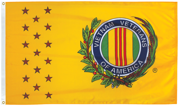 Vietnam Veterans of America Flag 3x5 ft Economical