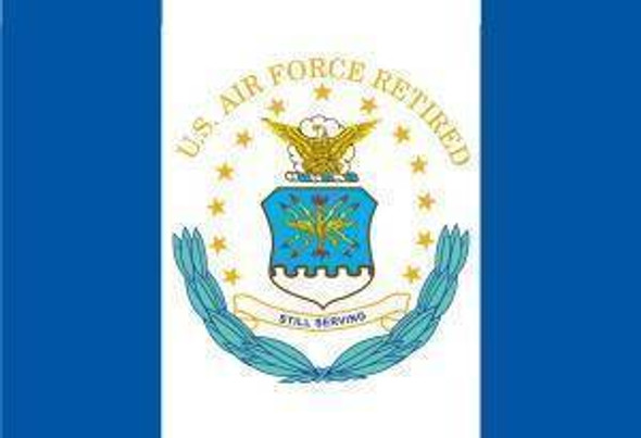 3x5 US Air Force Retired Flag Economy