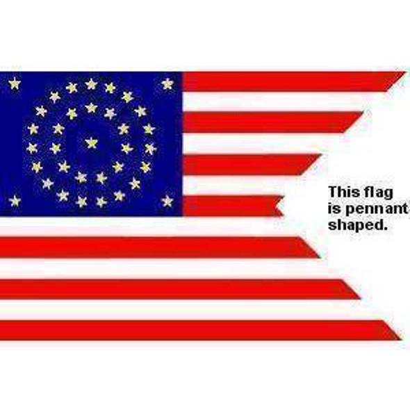 Union Cavalry Guidon Flag 3x5 ft. Standard