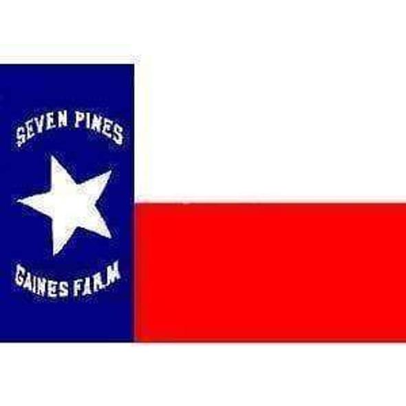 Texas Hoods Brigade (Seven Pines) Flag 3 X 5 ft. Standard