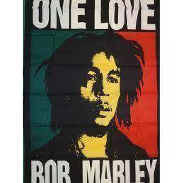 Bob Marley One Love Flag  3 X 5 ft. Standard