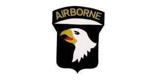 101st Airborne (White) Flag 3x5 ft. Standard