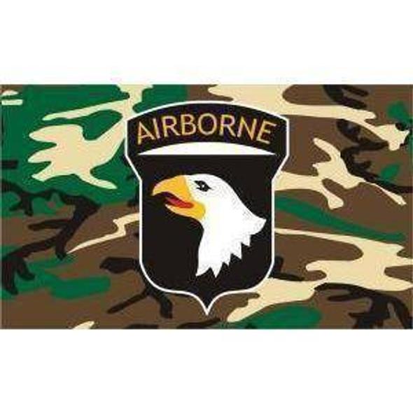 101st Airborne Camo Flag 3x5 ft. Standard