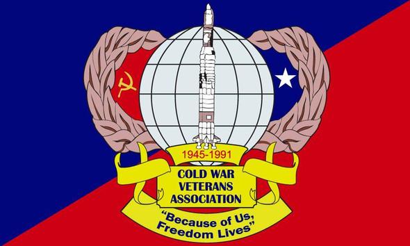 Cold War Veteran Flag Outdoor Custom Made in USA