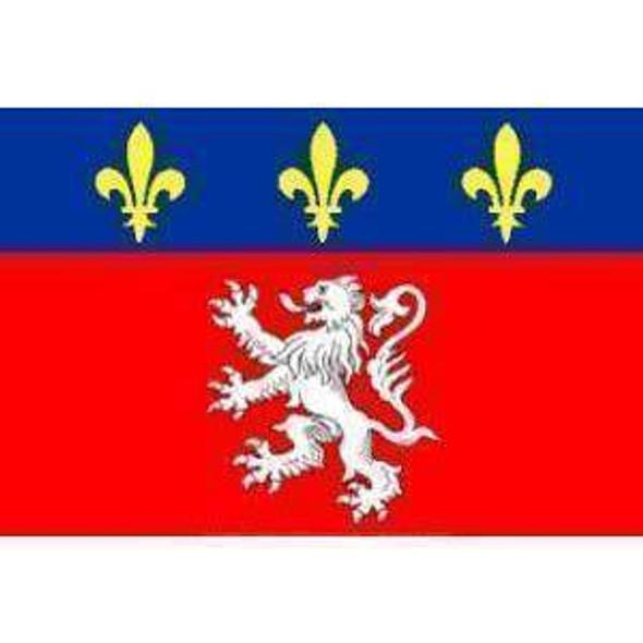 Lyonnais (France) Flag 3 X 5 ft. Standard_