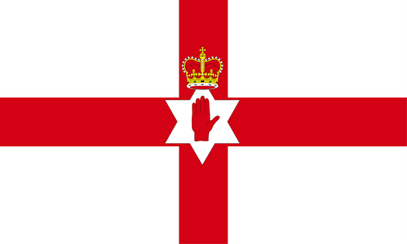 Northern Ireland Flag 3x5 Ulster Banner Economical