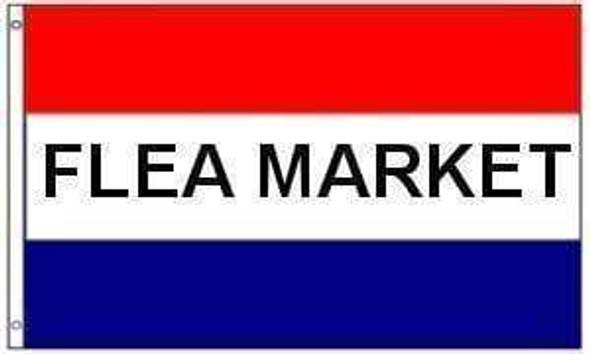 Flea Market Flag (sign flag) 3 X 5 ft. Standard
