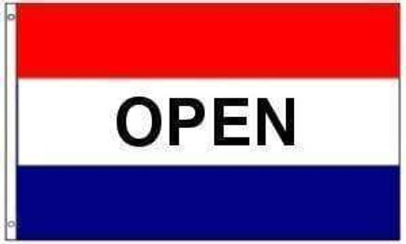Open Flag (sign flag) 3 X 5 ft. Standard