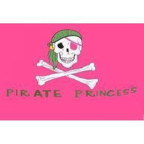 Pirate Princess Flag 3 X 5 ft. Standard