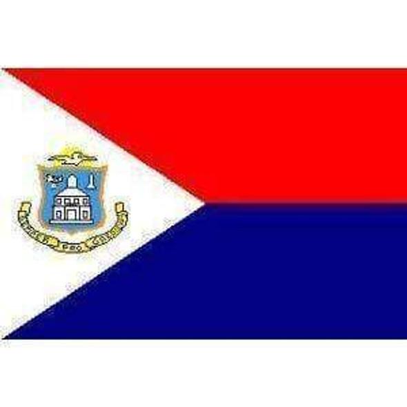 3'x5' St. Martin Flag Standard