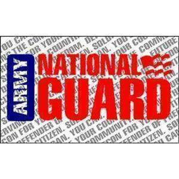 US Army National Guard Flag 3x5 ft. Standard