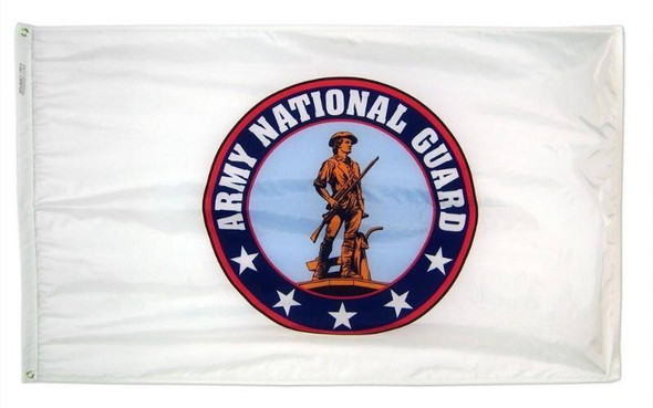 US Army National Guard Seal Flag 3x5 ft Economical