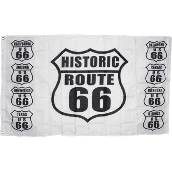 Route 66 Flag 3x5 ft. Economical