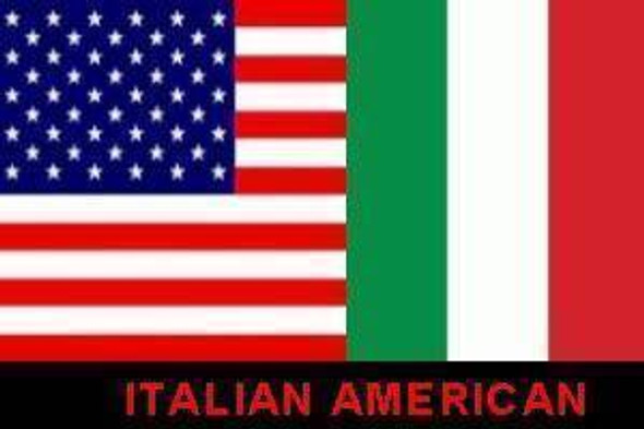 USA & Italy Flag 3 X 5 ft. Standard