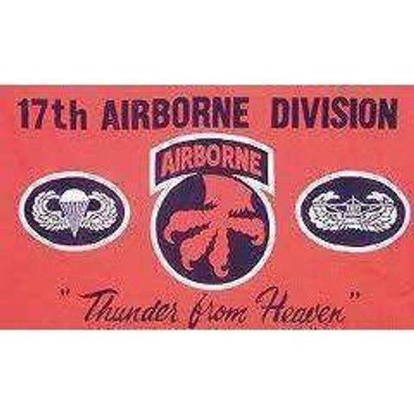 17th Airborne Flag 3X5 ft Standard