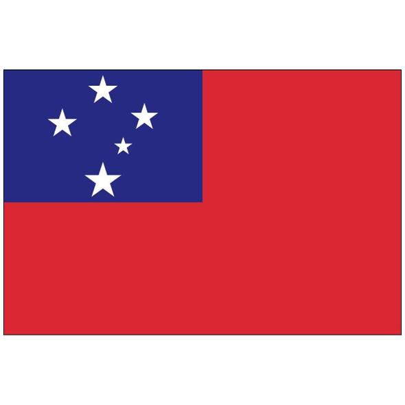 Samoa Flag 3x5 ft. Economical