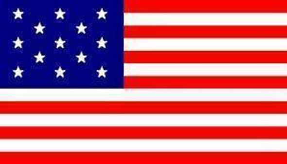 13 Star USA Flag - Hopkinson Flag 3 X 5 ft. Standard
