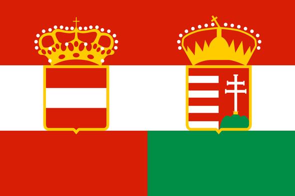 Austria Hungary Flag 1869 - 1918 3x5 ft. Standard