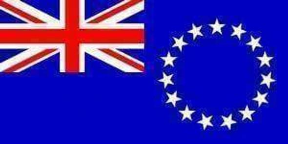 Cook Islands New Zealand Flag 3x5 ft. Economical