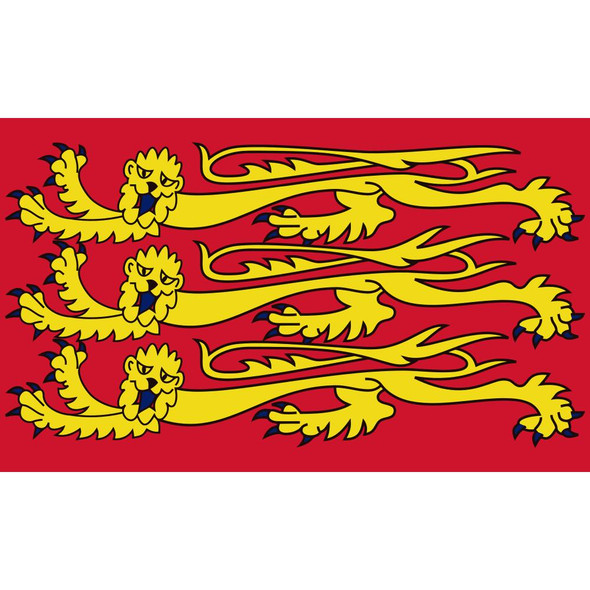 King Richard 1st England Flag 3x5 Economical