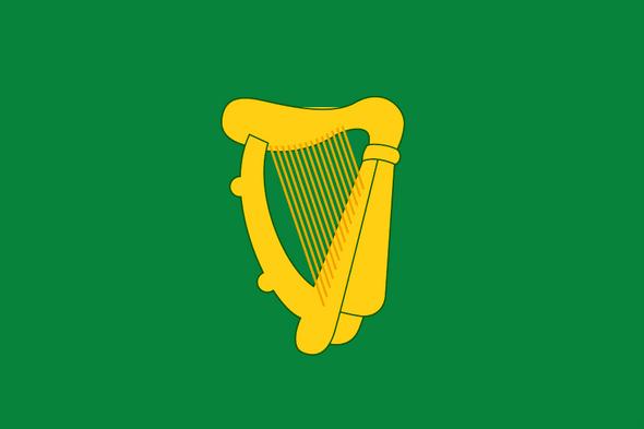 Leinster Ireland Flag 3x5 Ireland Naval Jack Economical