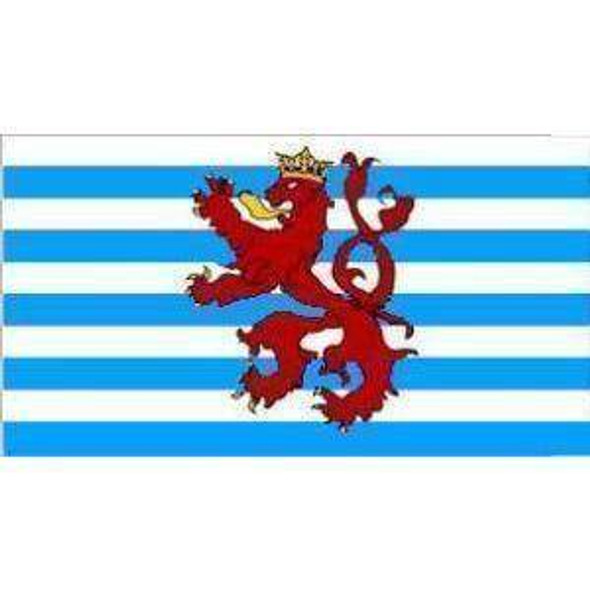 Luxembourg Royal Lion Flag 3 X 5 ft. Standard