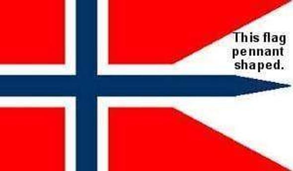 Norway War Flag 3 X 5 ft. Standard