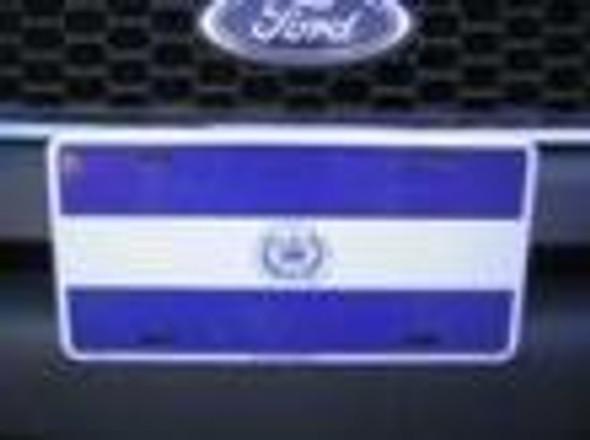 El Salvador Flag License Plate