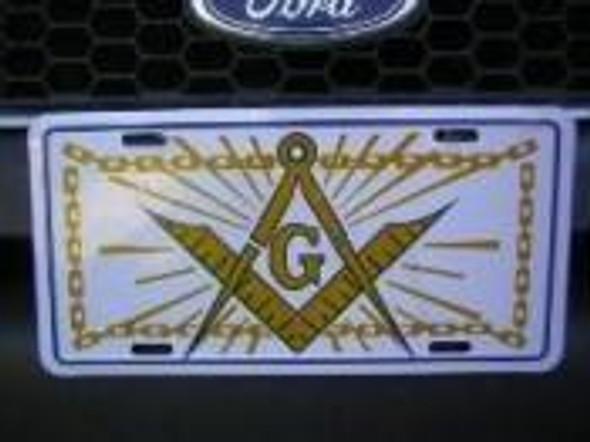 Mason Masonic License Plate