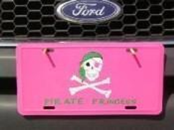 Pirate Princess License Plate