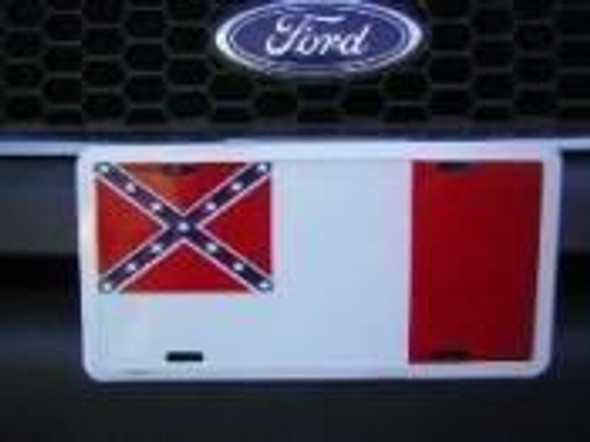3rd CSA National License Plate