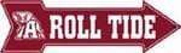 Alabama Roll Tide Arrow Sign